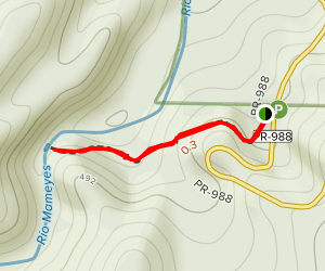 Angelito Trail Map