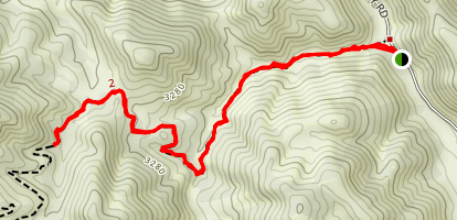 White Rock Canyon Trail Map