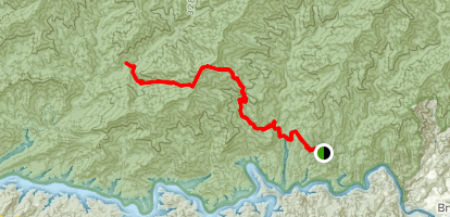 Cold Spring Gap Trail Map