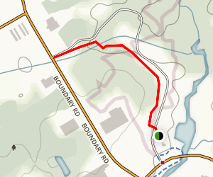 Gray's Creek Trail Map