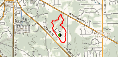 Big Bluestem Loop Trail Map