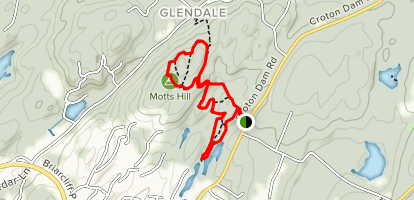 Motts Hill Trails Map