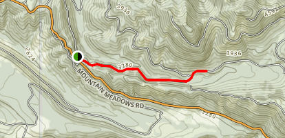 Evans Creek Trail Map