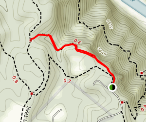 Butchers Branch Trail  Map