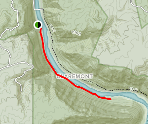 Stone Cliff Trail Map