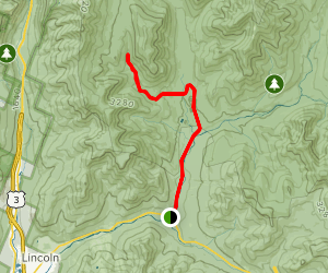 Lincoln Brook Trail Via Lincoln Woods Trail Map