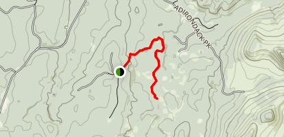 Wolf Pond Road Map