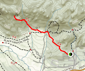 McGregor Ranch Trail Map