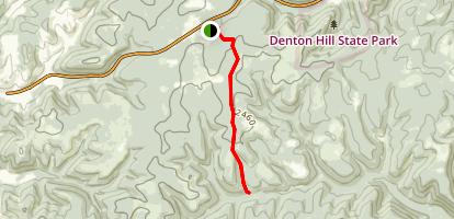 White Line Trail Map