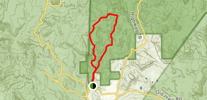 Sweetwater River Loop Trail Map
