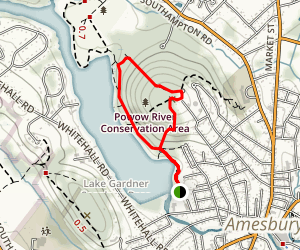 Batchelder Park Trail Loop Map