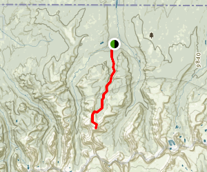 Tokewanna Peak Trail Map