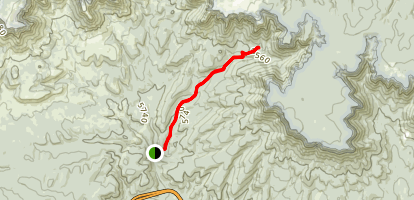 Horton Creek Trail Map