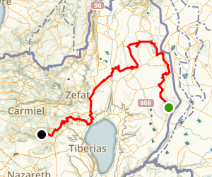 Dell Golan - Guest Avtalyon Offroad Driving Trail Map