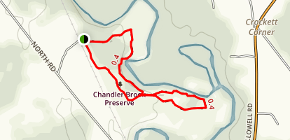 Chandler Brook Preserve Loop Map
