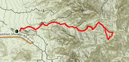 Organ Peak Trail Map