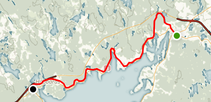 St. Margarets Bay Trail Map