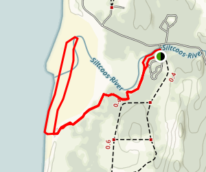 Waxmyrtle Trail Map