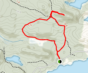 Gun Mountain Loop Trail Map