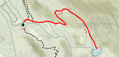 Heart Lake Trail Map