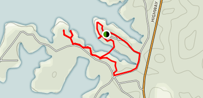 Toledo Bend Reservoir Loop Trail Map