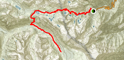 Bubbs Creek Trail Map