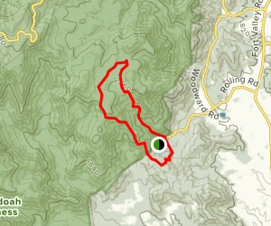 Pine Hill Gap Trail Map