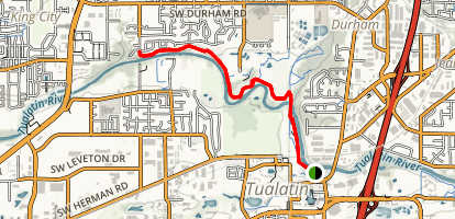 Tualatin River Trail Map
