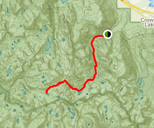 Tully Lake Trail Map