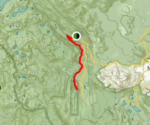 Agnew Meadows to Devils Postpile Map