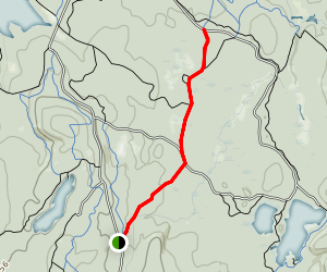 Broken Boulder Smiths Pond Trail Map