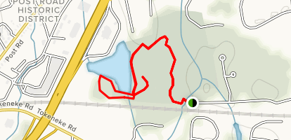Selleck Woods trail Map