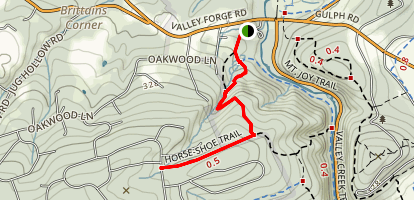 Horse-Shoe Trail Map