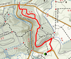 Mt. Joy Trail Map
