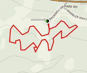 Nottingham Park Fitness Trail Map