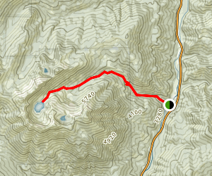 Big Bear Lake Trail Map