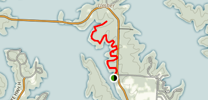 Umber Ridge Trail Map
