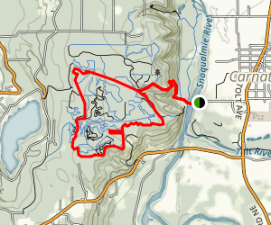 John MacDonald Park Mountain Bike Trails Loop Map