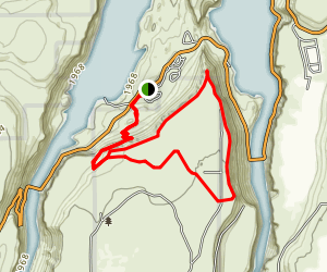 Cove Palisades Loop Map