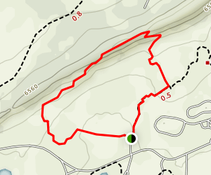 Hogback Nature Loop Trail Map