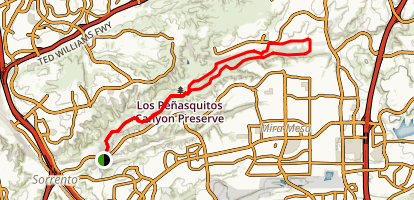 Los Peasquitos Canyon Preserve Map