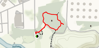 Hawk Rise Sanctuary Loop Trail Map