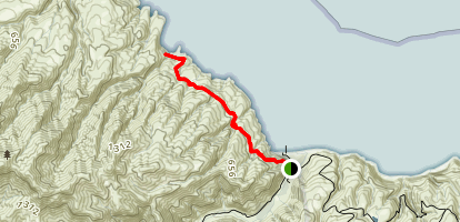 Pelican Bay Trail Map