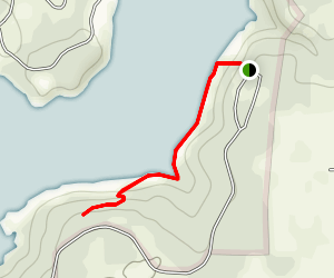 Penitentiary Hollow Trail Map
