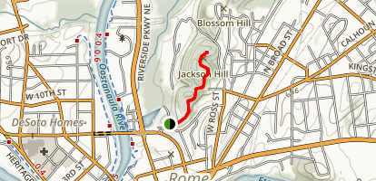 Jackson Hill Trail Map