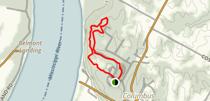 Columbus - Belmont State Park Trail Map