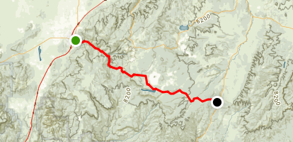 UT 14:  Cedar Canyon Map