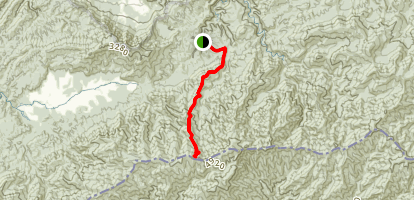 Bote Mountain Trail Map