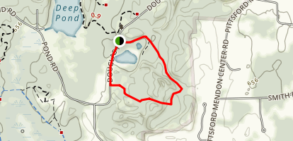 North Meadow Trail Loop Map