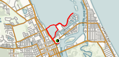 Indian River North Paddle Map